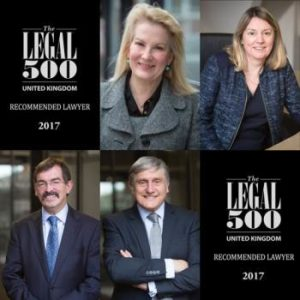 Commercial Property Team Legal 500 2017-Square