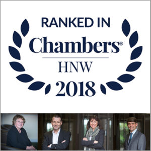 Warners Ranked In Chambers High Net Worth Guide 2018