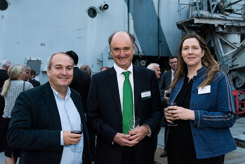 Guests at John Beynon's welcome event